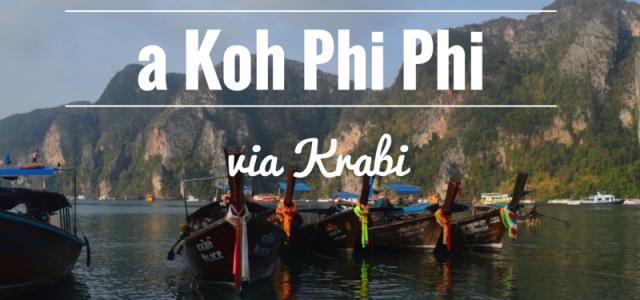 Como ir de Bangkok para Koh Phi Phi (via Krabi)