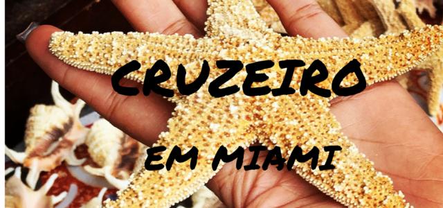 Fazendo um cruzeiro a partir de Miami